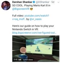 MarioKart in BigScreenVR