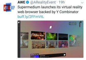 Supermedium launches VR web browser