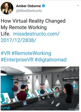VR Remote Working
