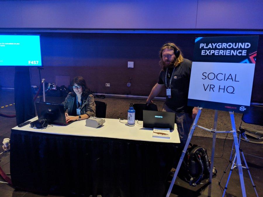 AWECORE Social VR HQ
